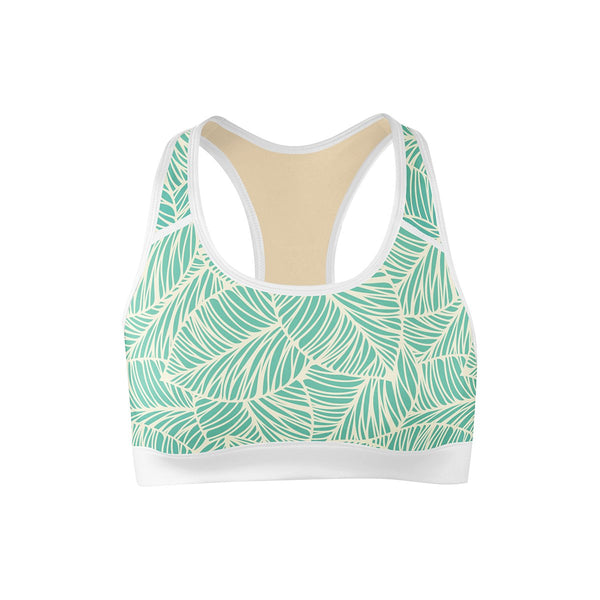 Vitamin Leaf Sports Bra  -  Yoga Top