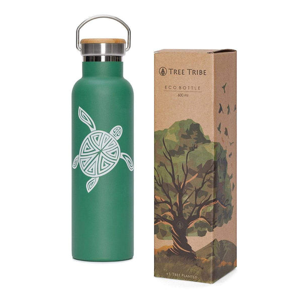 Flying Turtle Water Bottle (20 oz)  -  Reusable Bottle