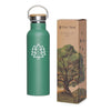 Green Trees Water Bottle - 20 oz  -  Reusable Bottle