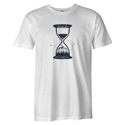 Hourglass Tee  -  Men's T-Shirt S / WHITE