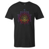 Lotus Tee  -  Men's T-Shirt S / BLACK