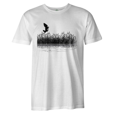 Marsh Tee  -  Men's T-Shirt S / WHITE