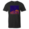 Moroccan Skies  -  Men's T-Shirt S / BLACK