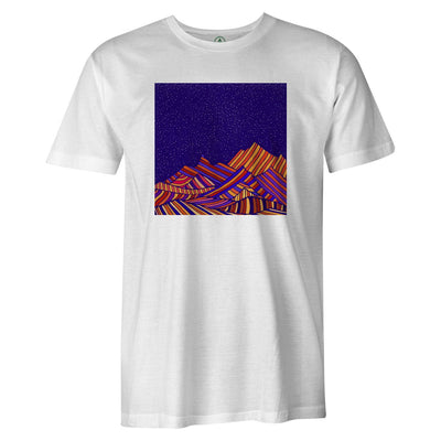 Moroccan Skies  -  Men's T-Shirt S / WHITE