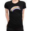 Rainbow Women's Tee  -  Women's T-Shirt XS / BLACK
