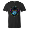 Rave Gorilla 2.0 Tee  -  Men's T-Shirt S / BLACK