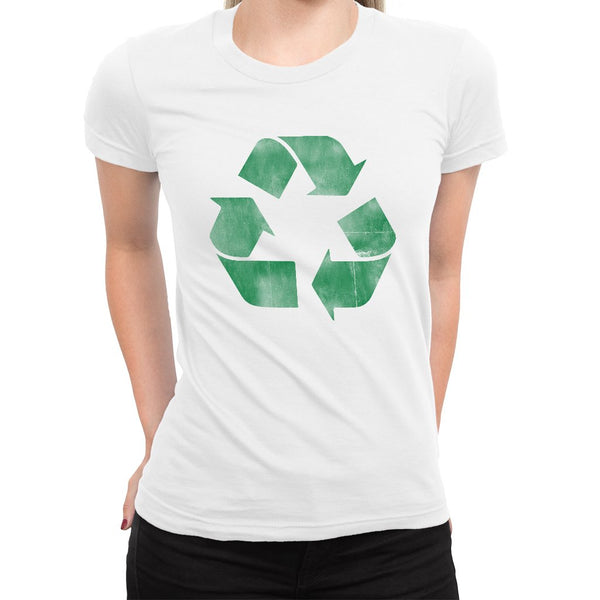 Recycle Women's Tee  -  Women's T-Shirt XS / WHITE