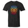 Retro Lion Tee  -  Men's T-Shirt S / BLACK