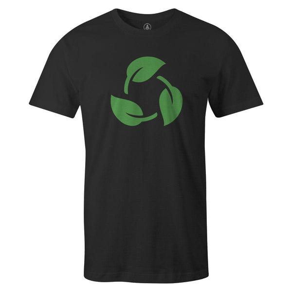 Reuse Tee  -  Men's T-Shirt S / BLACK