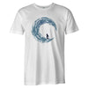Ride the Wave Tee  -  Men's T-Shirt S / WHITE
