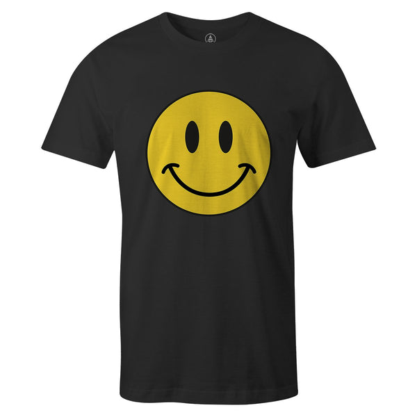Smiley Face Tee  -  Men's T-Shirt S / WHITE