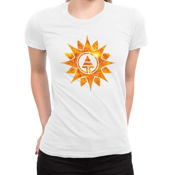Sun Tribe Women's Tee  -  Women's T-Shirt XS / BLACK