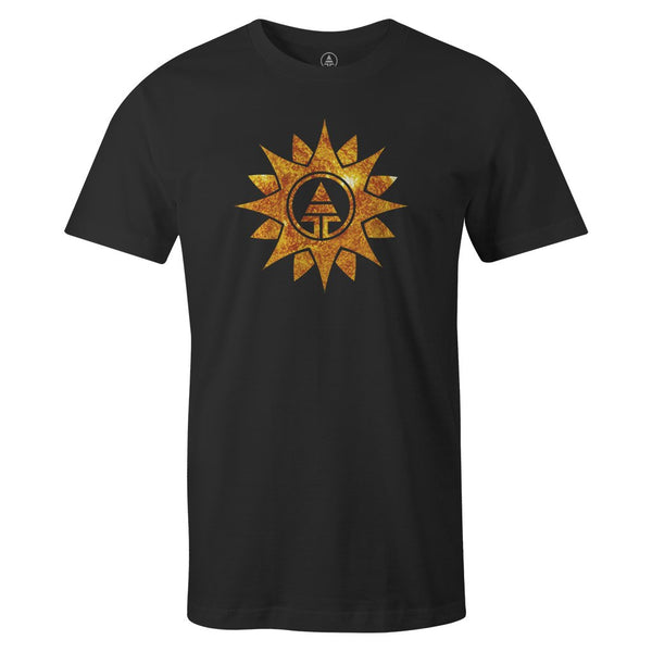 Sun Tribe Tee  -  Men's T-Shirt S / BLACK