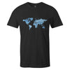 Travel Tee  -  Men's T-Shirt S / BLACK