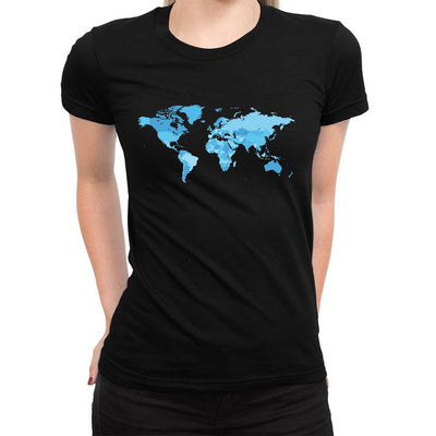 Travel Women's Tee  -  Women's T-Shirt XS / BLACK