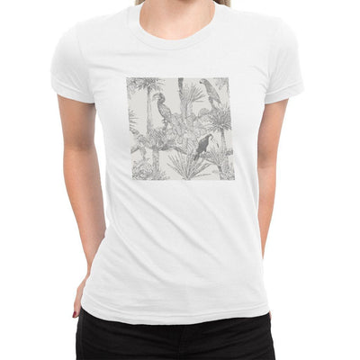 Tropical Women's Tee  -  Women's T-Shirt XS / WHITE