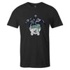 Turtle Dreams Tee  -  Men's T-Shirt S / BLACK
