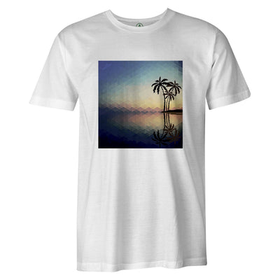 Vector Island Tee  -  Men's T-Shirt S / WHITE
