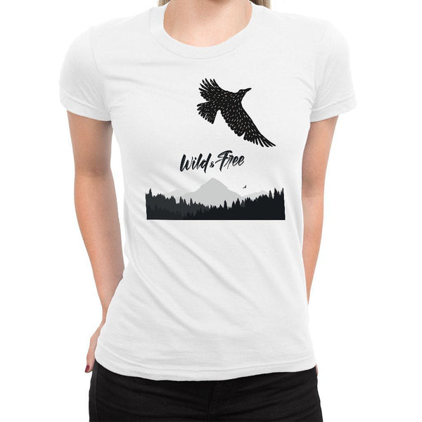 Wild and Free Women's Tee  -  Women's T-Shirt