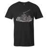 Woodwork Tee  -  Men's T-Shirt S / BLACK