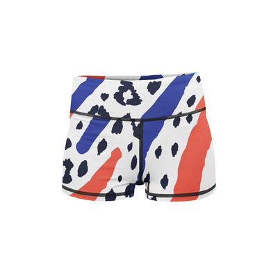 Safari Sunrise Yoga Shorts  -  Women's Shorts