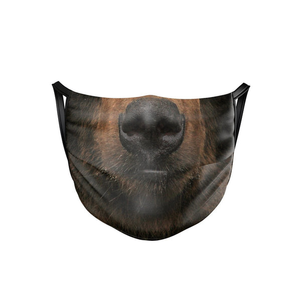 Bear Face Mask  -  Face Mask
