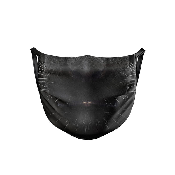 Black Panther Face Mask  -  Face Mask