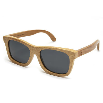 Bamboo Sunglasses - Black Lens