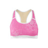 Blooming Star Sports Bra  -  Yoga Top