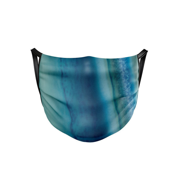 Blue Agate Face Mask  -  Face Mask