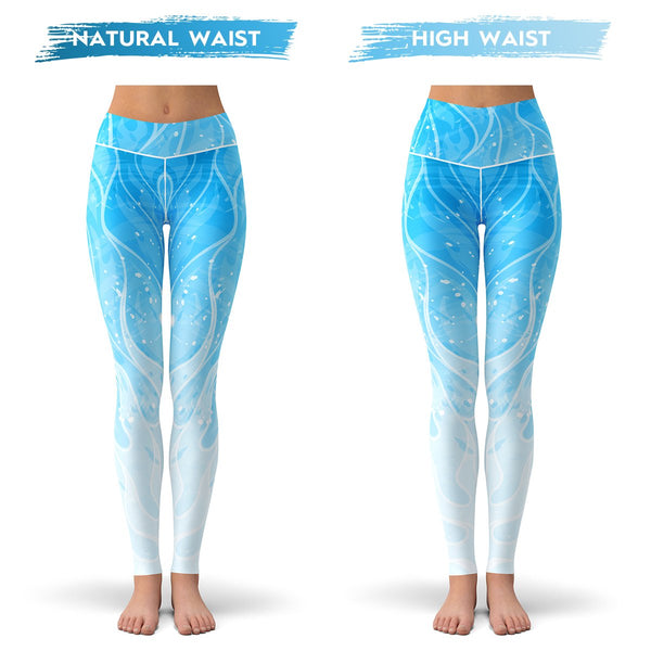 Blue Blaze Leggings