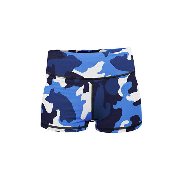 Blue Camo Summer Shorts