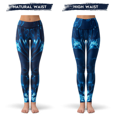 Blue Dreams Leggings