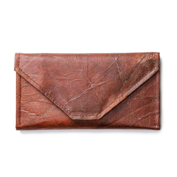 Envelope Clutch - Brown