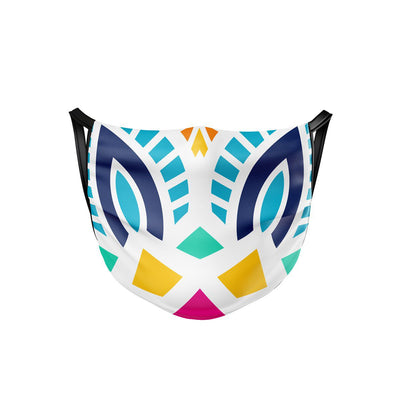 Colorful Mandala Face Mask  -  Face Mask
