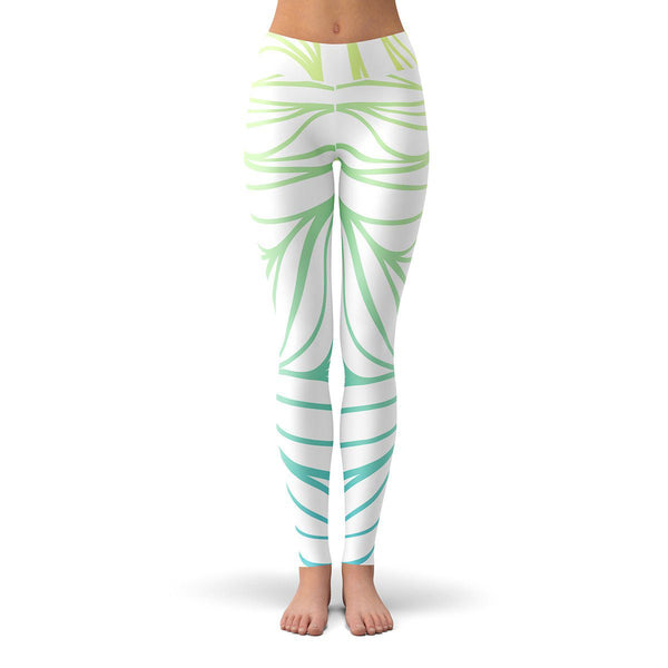 Colorful Sea Leggings  -  Yoga Pants