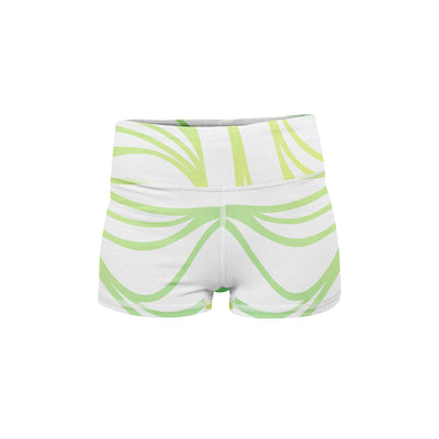 Colorful Sea Yoga Shorts  -  Women's Shorts