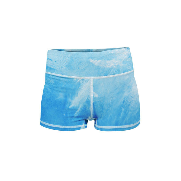 Crystalline Yoga Shorts  -  Women's Shorts