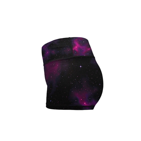 Dream Space Yoga Shorts  -  Women's Shorts