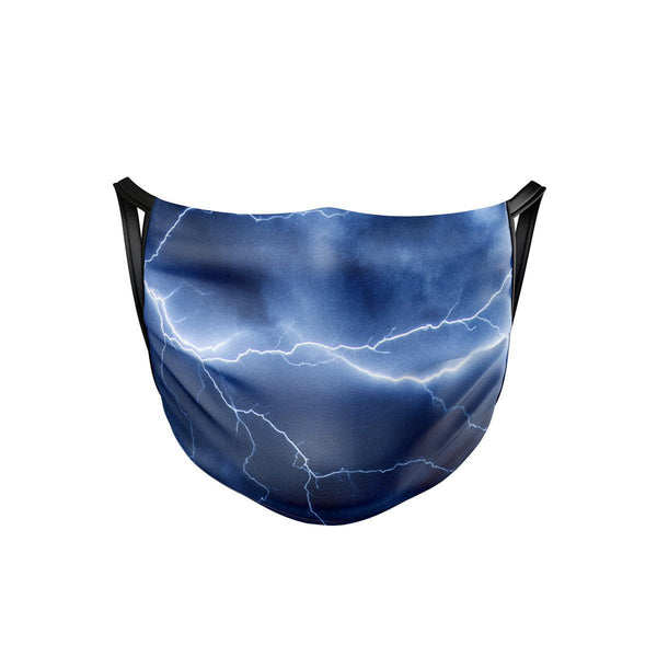 Electric Storm Face Mask  -  Face Mask