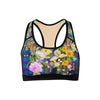 Floral Forest Sports Bra  -  Yoga Top