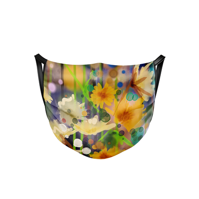 Floral Forest Face Mask  -  Face Mask