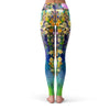 Floral Forest Leggings  -  Yoga Pants