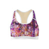 Floral Portrait Sports Bra  -  Yoga Top