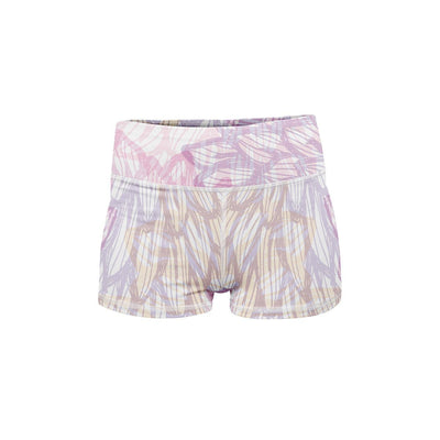 Flower Power Yoga Shorts  -  Women's Shorts