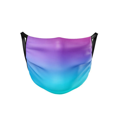 Fluorescent Mirage Face Mask  -  Face Mask