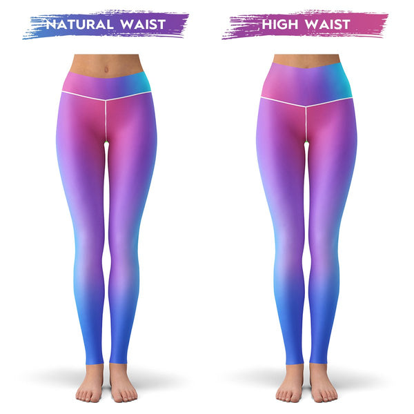 Fluorescent Mirage Leggings  -  Yoga Pants