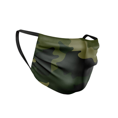 Forest Camo Face Mask  -  Face Mask