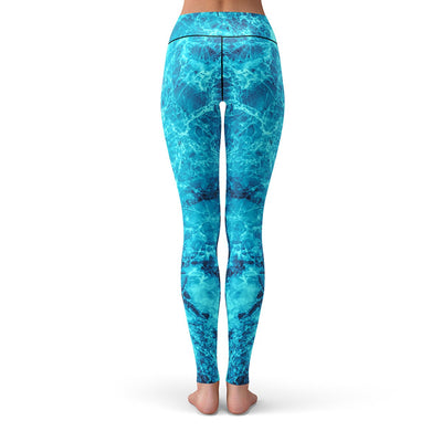 Frozen Leggings  -  Yoga Pants