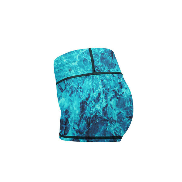 Frozen Yoga Shorts  -  Women's Shorts
